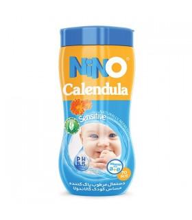 دستمال مرطوب کودک حساس نینو | قوطی 70 عددی