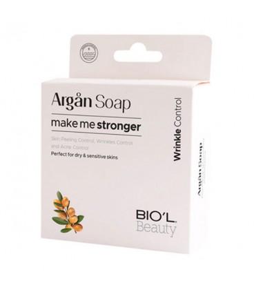 صابون آرایش پاک کن گلیسیرینه روغن آرگان بیول مناسب پوست خشک و حساس