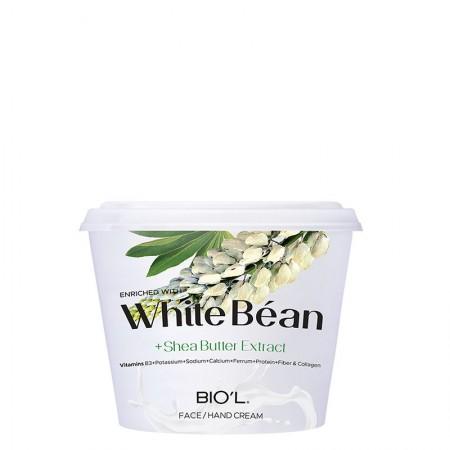 کرم مرطوب کننده white bean بیول کاسه ای حجم 250 میلی لیتر