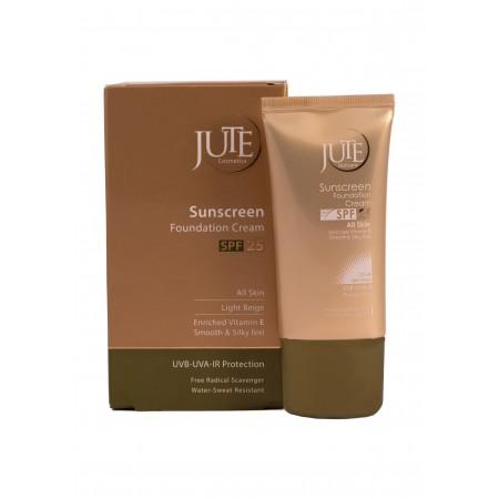 کرم پودر حاوی ضد آفتاب SPF 25 ژوت مناسب انواع پوست