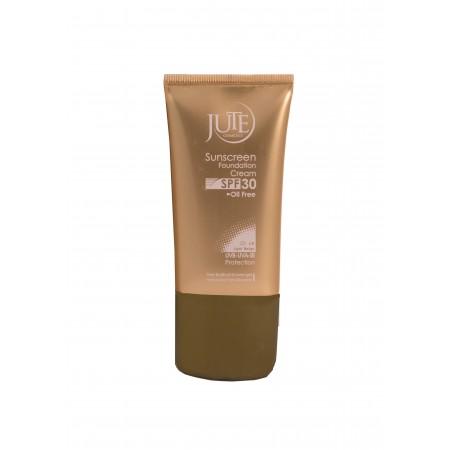 کرم پودر حاوی ضد آفتاب SPF 30 ژوت مناسب پوست چرب