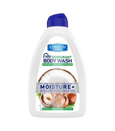 شامپو بدن کرمی کامان مدل Moisture مناسب پوست خشک و حساس