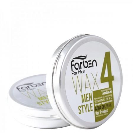 واکس مو فاربن حالت دهنده قوی مو مخصوص آقایان شماره چهار