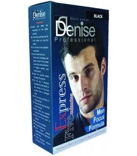 رنگ موی مردانه مشکی پر کلاغی دنیس (5 دقیقه ای)