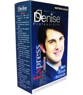 رنگ موی مردانه مشکی طبیعی دنیس (5 دقیقه ای)