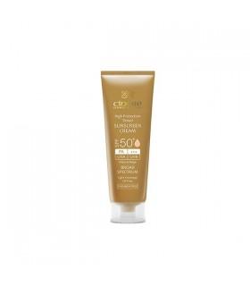 کرم ضد آفتاب رنگی سینره +SPF50 مناسب انواع پوست