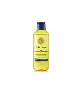 شامپو حجم دهنده و انرژی بخش مورینگا امو مناسب پوست سر خشک و حساس کد 9