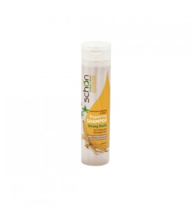 شامپو ترمیم کننده کراتین و جینسینگ شون مناسب موهای رنگ شده و آسیب دیده
