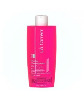 میسلار واتر پاک کننده آرایش و صورت لافارر مناسب پوست چرب و معمولی