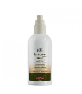ضد آفتاب بی رنگ پمپی ژوت +SPF 50 مناسب پوست چرب