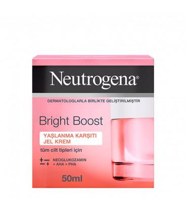 کرم ژل ضد لک و درخشان کننده Bright Boost نیتروژنا