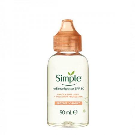 سرم روشن کننده و ضد آفتاب سیمپل SPF 30