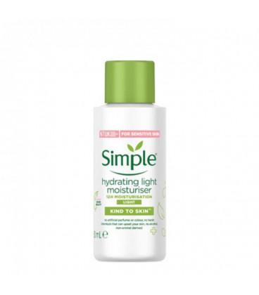 کرم آبرسان و مرطوب کننده سیمپل مناسب پوست حساس