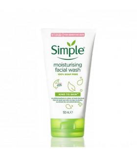 ژل شستشو مرطوب کننده و آبرسان سیمپل مناسب پوست حساس