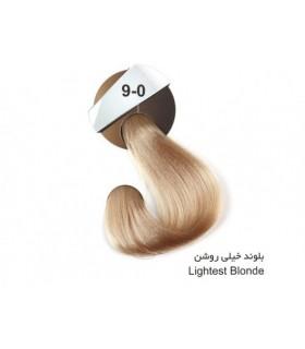 رنگ موی کراتینه دنیس سری طبیعی بلوند خیلی روشن کد 0-9