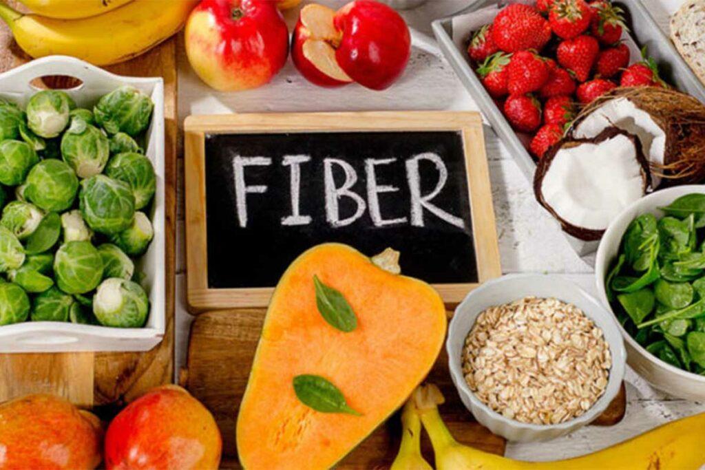 کدام ماده غذایی فیبر بیشتری دارد؟